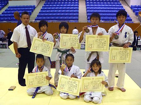 第4回オープントーナメント極真兵庫カップ(兵庫県立武道館)