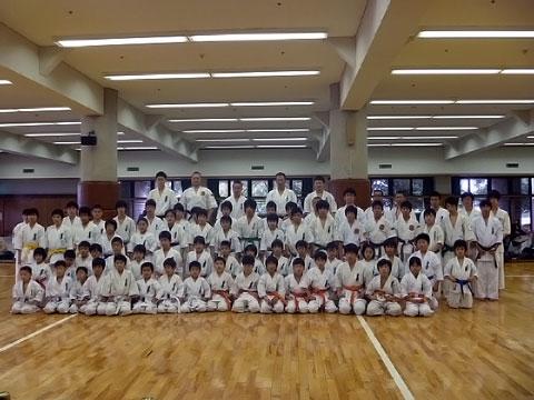 国際極真武道空手連盟合同審査会(岡山市総合文化体育館)