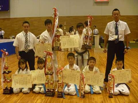 第5回JKJO全四国空手道選手権大会(善通寺市民体育館)