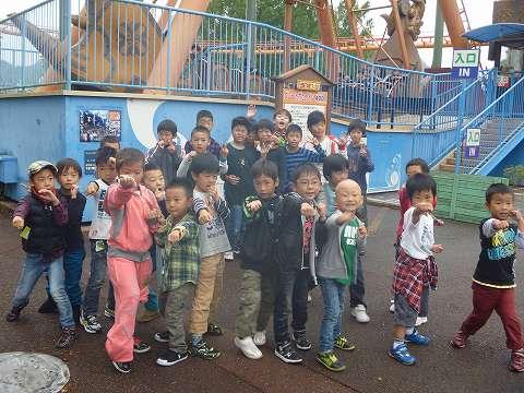 幼年部・少年部合同親睦遠足姫路セントラルパーク