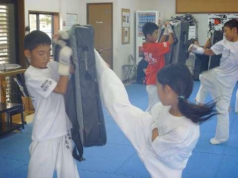 清野道場全日本代表選手強化稽古