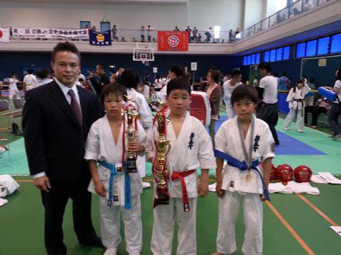 聖武会館近畿ジュニア空手道選手権大会
