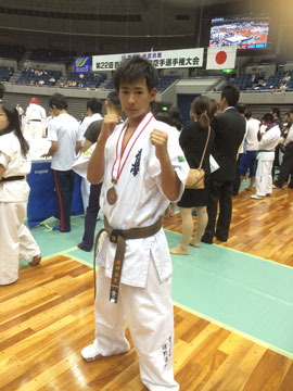 西日本ジュニア空手道選手権大会