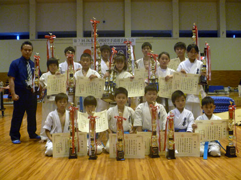 第7回JKJO全四国空手道選手権大会