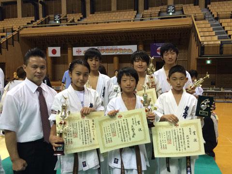 極真会館愛媛県空手道選手権大会